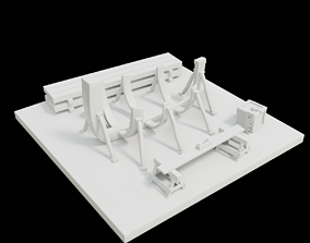 3D Toon Shipyard