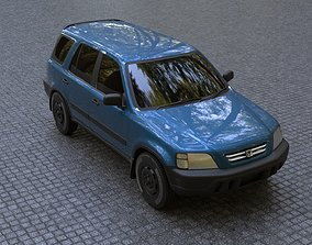 CRV 96-01 Honda SUV 3D model