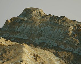 Desert Rocky Mountain 3D