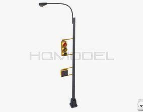 3D Traffic Light Lamp PBR