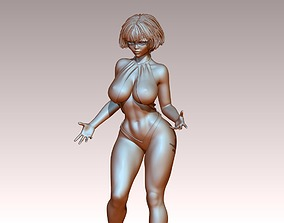 Woman body sculptures N 00789 stands poses 3Dprint 3D