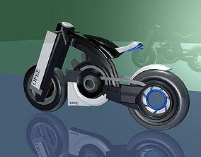 3D Futuristic Bike VR / AR ready