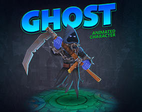 3D model Ghost animated character