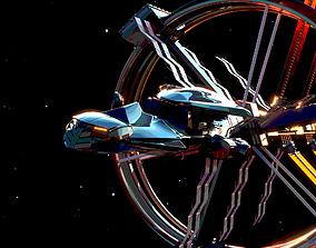 3D vehicle Spacecraft