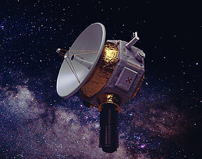 Deep Space Probe 3D asset