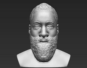 James Harden bust 3D printing ready stl obj formats