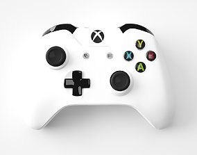 3D Xbox One White Edition Controller