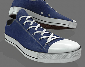 3D model Realistic Sports Sneakers