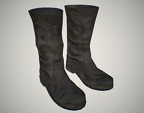 3D asset VR / AR ready Boots