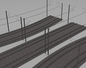 3D Electrified train line