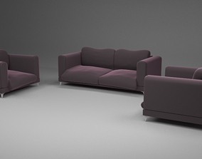 couch blander 3D model Couch