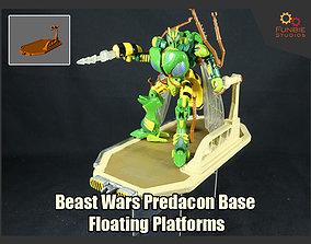 3D printable model Predacon Base Floating Platform from 2