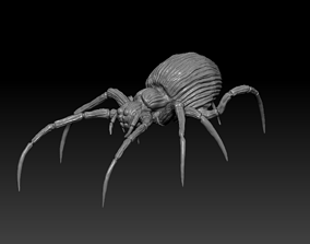 Spider 3D print model low-poly