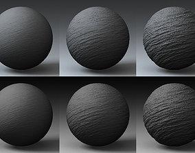 3D model Displacement Landscape Shader 048