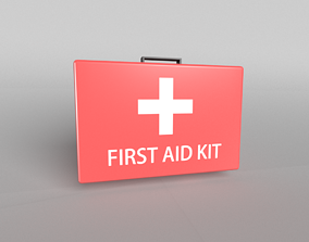 3D asset First Aid Kit 001
