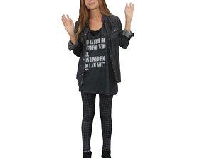3D model No314 - Female Standing