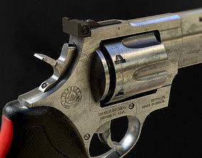 3D model Taurus 444 Raging Bull 44 Magnum