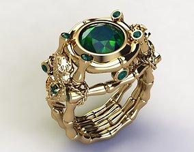 beauty Bamboo Ring 3D printable model