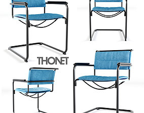 S 34 N Thonet All Seasons Chair 3D model
