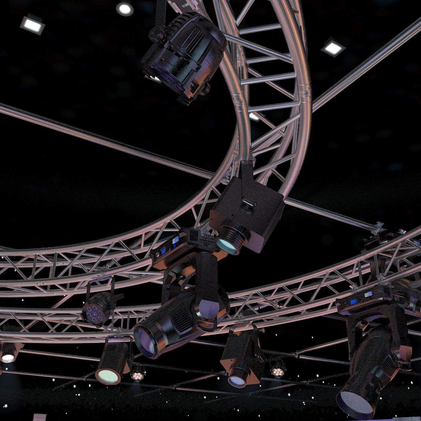3d Virtual TV Studio Sets
