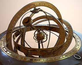 Astrolabe 3D model