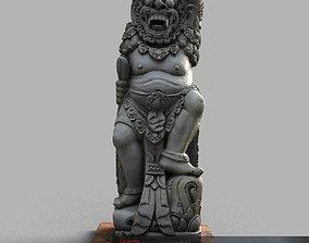 3D asset Bali-statue-013