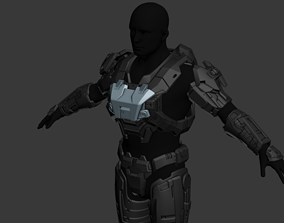 Modular Reach UA Base Security Wearable 3D Print File