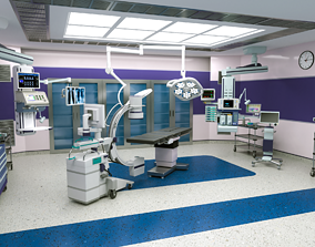 Surgical-Operation Room 3D