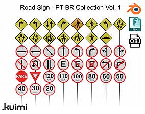 Road Sign - PT-BR Collection Vol 1 3D
