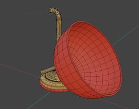 BedSide Lamps 3D asset