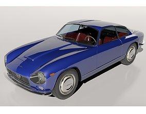 Lancia Flaminia Zagato 3D