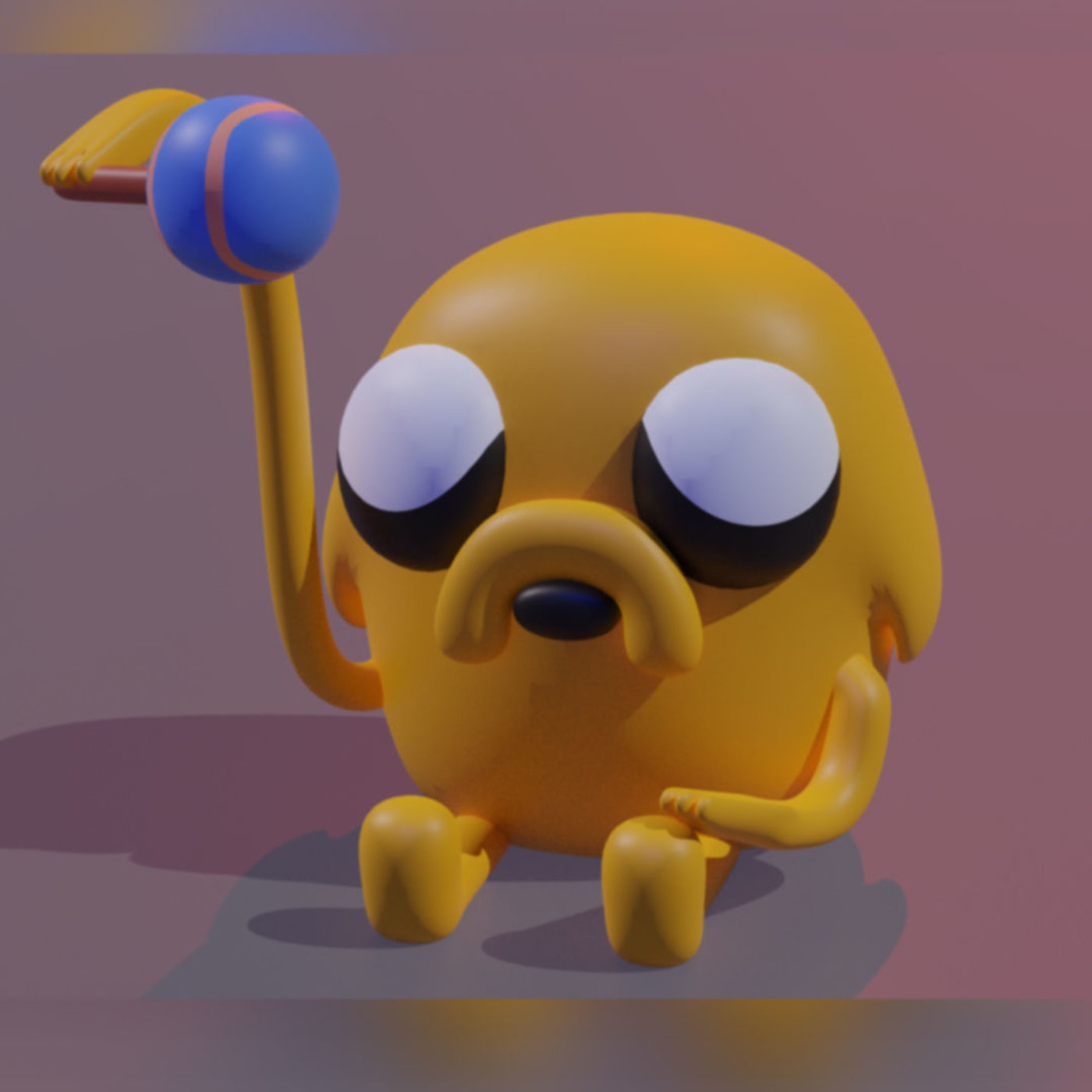 baby Finn and Jake From adventure time   CGTrader
