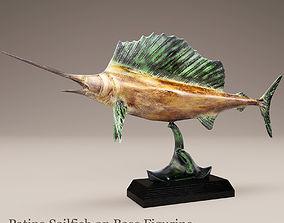 swordfish 3D model