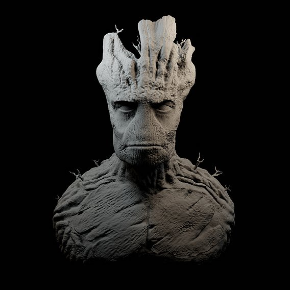 """""""I AM GROOT"""" attempt #2"""