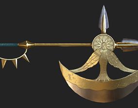 Escanor Sacred Treasure Divine Axe Rhitta 3D model