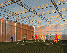 3D Indoor or Outdoor Futsal