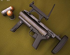 Heckler and Koch M320 GLM 3D model