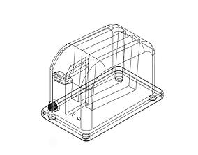 3D asset retro bread toaster