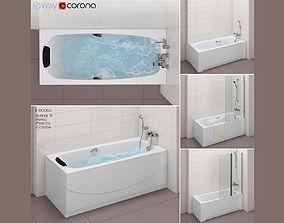 Set of baths Roca set 32 -Sureste 3D model
