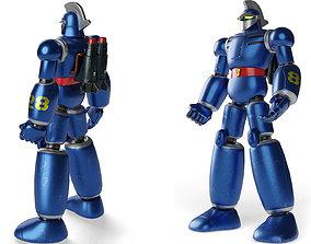 3D model Tetsujin 28 PBR