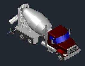3D Concrete Mixer