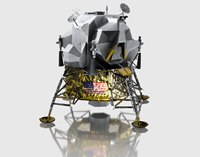 3D model Apollo Landing Module - Apollo 11