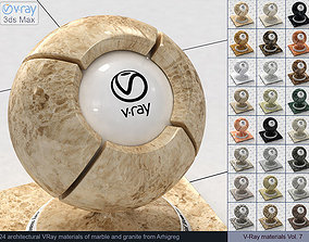 Architectural Vray materials for 3ds Max - Marble