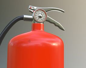 hydrant fire extinguisher 3D model