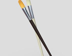 CC0 - Paint Brush 3 3D asset