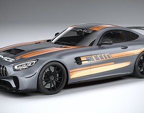 3D Mercedes-Benz AMG GT4 2020