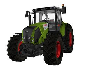 CLAAS Axion 820 3D asset