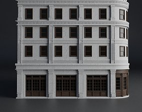 3D model CLASSIC OLD EUROPEAN BUILDING 01