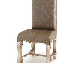 Chair With A Cushion Seat 3D