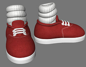 Cartoon Shoes 3D asset